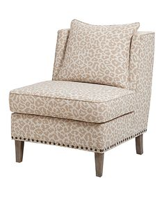 Natural & Cream Accent Chair   Daily deals for moms, babies and kids