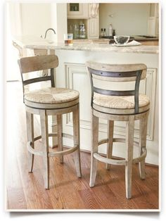 Sora Linen Swivel Barstool Io Metro The Barstools For