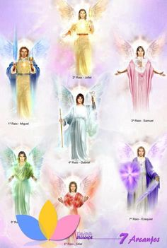 """""""All archangels according to the flames✨😇✨"""