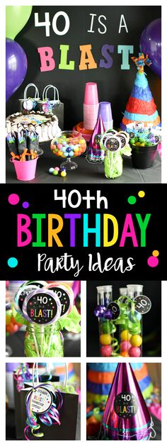 Ideas for a 40th Birthday Party