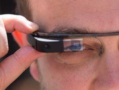 Google Project Glass - closeup