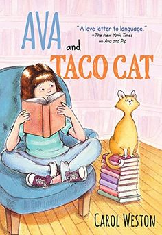Interview with Carol Weston About Her New Book, Ava and Taco Cat #kidlit