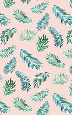 Palma pattern iPhone wallpaper
