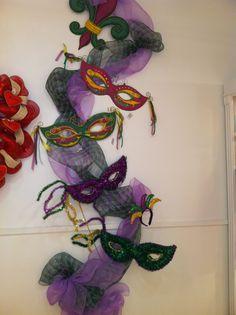 Mardi Gras Display from our Atlanta Showroom @AmericasMart Atlanta Summer 2013! #burtonandburton #mardigras