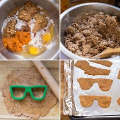 Make your pup some Pumpkin Peanut Butter Doggie Treats with this easy recipe.