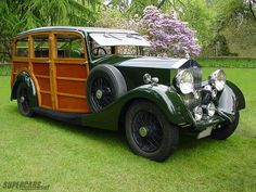 "1936 Rolls-Royce 20/25 Shooting Brake ~ Miks' Pics ""Rolls-Royce"" board @ http://www.pinterest.com/msmgish/rolls-royce/"