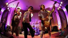 The Spazmatics band make for a nerdy-fun reception full of dancing. #video #wedding #Texas