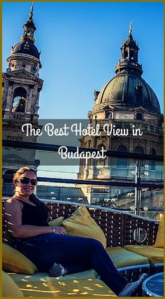 The best hotel view in Budapest Hungary. Rooftop Views & Relaxation at the Best Hotel in Budapest- Aria Budapest Hotel. Click to read the full travel blog post at http://www.divergenttravelers.com/aria-budapest-hotel-review/