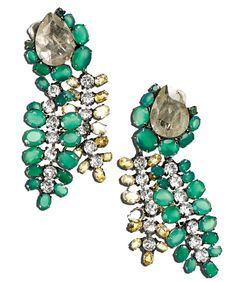 THE COSTUME JEWELRY COLLECTOR - Iradj Moini Earrings, 212 872 2518