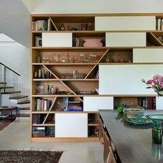 // cool bookshelf
