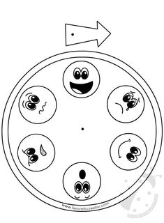 Patterns for Preparing a Kindergarten Emotions Chart - Preschool Children Akctivitiys Preschool Class, Preschool Learning, Preschool Activities, Teaching, Feelings And Emotions, School Counselor, Kids Education, Pre School, School Projects