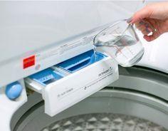 Sie giesst Essig in ihre Waschmaschine. Wenn Du siehst warum, machst Du es sofort nach. | LikeMag | We like to entertain you