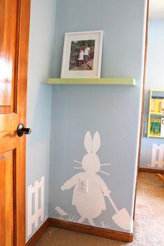 Peter Rabbit Nursery Wall art