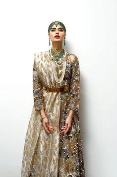 """Emerald """" Maatha Patti """" & matching gold necklace"""
