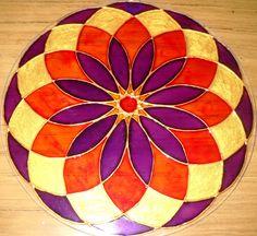 Mandalas en vidrio - Geometrias del Alma: Nuevos Mandalas hechos con Amor