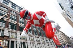 A Spectacle Like No Other: The World-Famous Macy's Thanksgiving Day Parade Kicks Off The Holiday Season Parade Route, Thanksgiving Day Parade, Up To The Sky, Mighty Morphin Power Rangers, Blue Springs, Miss America, World Famous, New York Street, Black Eyed Peas