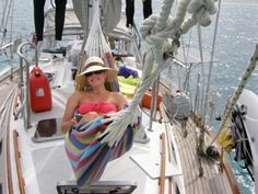 """""""Creating Your Own Space on a Boat"""" by Jan Irons is a good article about finding time and space for yourself when cruising to keep your relationships happy and healthy."""