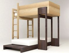 I like the clean lines of the low bed, as well as the extended shelf.