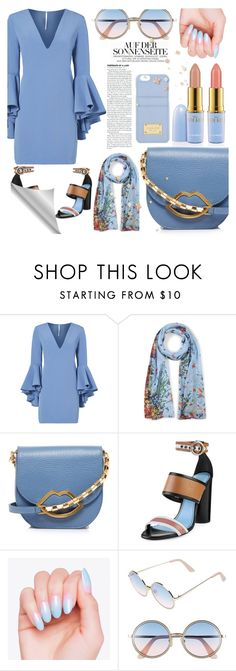 """""""Sin título #61"""" by katicamc on Polyvore featuring moda, Milly, ESCADA, Lulu Guinness, Lanvin, Sunday Somewhere y MICHAEL Michael Kors"""