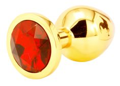 Handsome+Cock+Medium+Red+Jewelled+Gold+Butt+Plug, £12.99