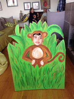 O macaquinho também e' uma ideia gira! Festa dos 2 anos do Salvador