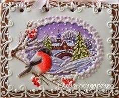 Gingerbread magic of Elena Bondarenko: Christmas gift
