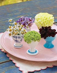 Give Floral Party Favors