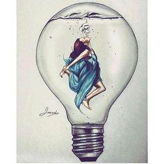 #mulpix #Draw #desenhos #desenho #art #artista #desenhando #drawing #arte #like #follow #followme #desenhar #girl #agua #lampada #lindo #skatch . . By @jawadalghezi By @jawadalghezi . Adm @vandinho.c Adm @vandinho.c