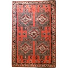 Maya Red Olive - Lavender & Rosemary  #vloerkledenloods #etnic #rugs