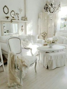 Shabby Chic! Blanco total!