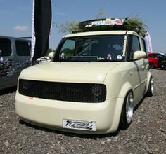 Toasters, City Car, Small Cars, Van Life, Custom Cars, Cubes, Nissan, Garage, Sugar