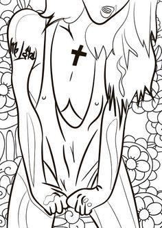30 pgs adult coloring bookpinup girl artworkpinup