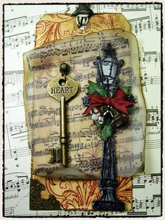 Tim Holtz 12 Tags of Christmas 2009