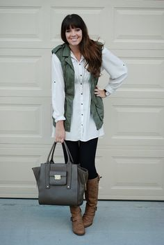 Layering for fall. Fall outfit from the red closet diary blog.