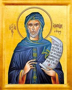 St. Ephraim: Called the Sweet-Singer, the Melodist. Syrian known for his writings and for the introduction of hymns in public worship; creator of the Nisibeian hymns and canticles. Doctor of the church.