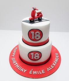 Happy Birthday 18th, Cake, Desserts, Food, Gourmet, Atelier, Tailgate Desserts, Deserts, Kuchen