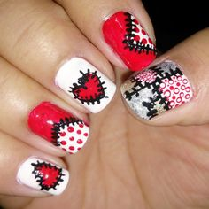 Patchwork Nails