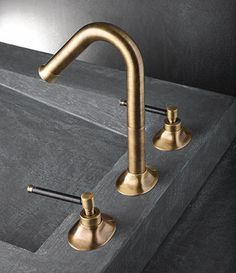 Suppliers of brass taps including antique brass basin taps, deck mounted bath taps and matching shower heads and fittings. Luxury Kitchen Design, Brass Tap, Traditional Bathroom Remodel, Bath Taps, Basin Taps, Basin, Brass, Rectangular Mirror, Plumbing Fixtures