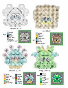 Bunny Plastic Canvas Coasters
