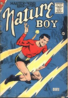 Well, ain't that an awkward cover? Nature Boy--Ride the Lightning!