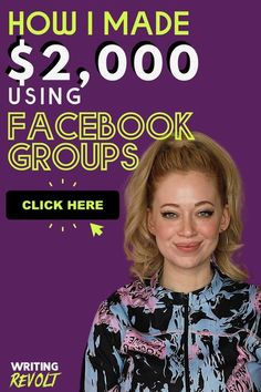 How I made $2k using Facebook Groups as a Freelance Writer | Learn how I made $2,000 from Facebook groups from freelance writing. Landing clients through social media marketing is the best way to find paying clients besides cold emailing! Find freelance writing jobs as a beginner and start making money from home using these business tips. For these income ideas plus side hustle ideas, how to make money writing, marketing for freelancers, email marketing, & more read WRITINGREVOLT.COM #writer