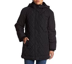 """Keep warm in this Gallery quilted jacket that featured and attached drawstring hood.       Famous Words of Inspiration...""""I didn't attend the funeral, but I sent a nice letter saying I approved of it.""""   Mark Twain — Click here for more from...  More details at https://jackets-lovers.bestselleroutlets.com/ladies-coats-jackets-vests/quilted-lightweight-jackets/product-review-for-gallery-petites-diamond-quilted-coat/"""