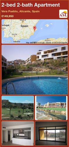2-bed 2-bath Apartment in Vera Pueblo, Alicante, Spain ►€149,950 #PropertyForSaleInSpain