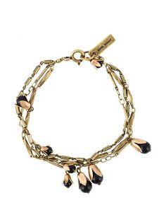 Isabel Marant Цепочный браслет с бусинами