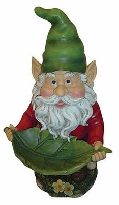 Gnomes live ten times faster than humans. They're harder to see than a high-speed mouse. That's one reason why most humans hardly ever see them. The other is that humans are very good at not seeing things they know aren't there. And, since sensible humans know that there are no such things as people four inches high, a gnome who doesn't want to be seen probably won't be seen.  Terry Pratchett