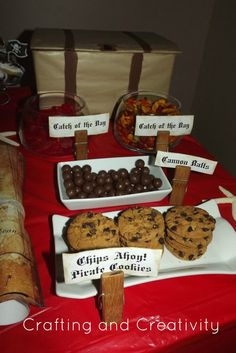 pirate party- dessert table