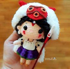 Chibi Princess Mononoke