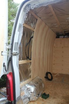 Flat pack diy furniture kits for camper vans
