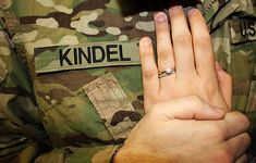 #military #wedding vows - what to say to make it (even more) special http://thealternativebride.com