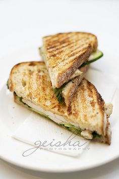 roast chicken, lettuce, cucumber and aioli sandwich...